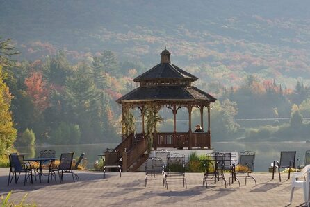 Waterville Valley, New Hampshire - gazebo